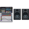 PreSonus StudioLive 32SC Subcompact 32-Channel/22-Bus Digital Console and FREE Eris E3.5 Monitors (Pair)