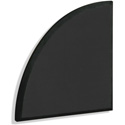 Primacoustic F122 2415 00 Broadway Ark Accent Panel Quarter-Circle Beveled Edge - Black