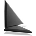 Primacoustic F122 2416 00 Broadway Apex Accent Triangle Beveled Edge - Black