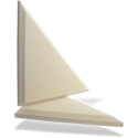Primacoustic F122 2416 03 Broadway Apex Accent Triangle Beveled Edge - Beige
