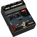 Radial AC-DRIVER AC Acoustic Instrument Preamp with Low Cut and Notch Filter / Built-In Radial DI