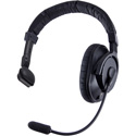 Riedel PRO-E1 Medium-weight Electret Single Ear Headset with Rotatable Boom - 4-Pin XLR-Female