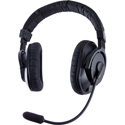 Riedel PRO-E2 Medium-weight Electret Double Ear Headset with Rotatable Boom - 4-Pin XLR-Female