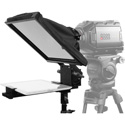 Prompter People PAL-iPAD-FS Freestanding Teleprompter with Tablet Cradle - 10x10 Glass - iPHONE Mounts - Stand and Case