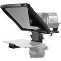 Prompter People PAL12-iPAD Teleprompter with Tablet Cradle - 12x12 Glass - iPHONE and Camera Mounts and Case