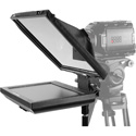 Prompter People PAL12-iPAD-FS Teleprompter with Tablet Cradle - 12x12 Glass - iPhone Mount - Stand and Case