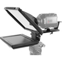 Prompter People PAL12 Teleprompter with 12inch Rev. Monitor - Software - 12x12 Glass - iPHONE and Camera Mounts and Case