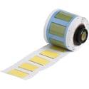 Brady PSPT-375-1-YL 1.015W x 0.645H PermaSleeve Heat Shrink Wire Markers Yellow