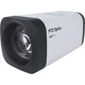PTZOptics PT12X-ZCAM 12X 1080p HD-SDI Box Camera - PoE & US Style Power Supply - White