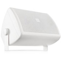 QSC AC-S6T-BK 6.5 In Two-Way Surface Speakers 70/100V Transformer with 8Ohm Bypass & 130 Degree Conical Coverage - White