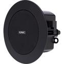 QSC AD-C.SAT 2.75-inch Small Format Ceiling Satellite Loudspeaker - Black - Pair