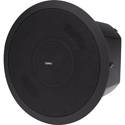 QSC AD-C.SUB 6.5-inch Dual Voice Coil Small Format Ceiling Subwoofer - Black