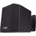 QSC AD-S.SAT 2.75-inch Small Format Surface Satellite Loudspeaker - Black - Pair