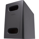 QSC AD-S.SUB 6.5-inch Dual Voice Coil Small Format Surface Subwoofer - Black