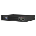 QSC CX204V 2RU 4 Channel Power Amplifier (200 Watts/Channel at 70V)