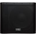 QSC Audio KW181 18 Inch Ported 1000W Subwoofer w/ Integrated Casters