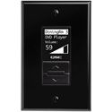 QSC MP-MFC Wall mount Controller for MP-M Series Mixers - Black