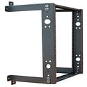 Quest WR1922-13-02 2-Post Fixed Wall Mount Rack - 13U