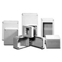 Hammond R130-124-000 4.72x10.24x3.94 Inch Polyester Modular Enclosure
