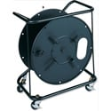 Canare R460C Cable Reel with Connector Mounting Plate - B-Stock (4 Holes In Front & Some Scratched Coating)