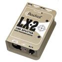 Radial Engineering LX2 Passive Line Splitter & Attenuator