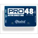 Radial Pro48 Active Direct Box - 48V Phantom Powered