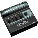 Radial R800 8011 Presentation Mixer with Mic Preamp - 3.5mm Stereo Input and USB