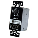 Radial Engineering StageBug SB5W Wall-Mounted Stereo Direct Box