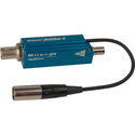 Telecast Rattler 4 Optical - ST 22 dBm - in to Electrical - BNC Out - Mini-XLR Locking Cord