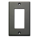 RDL CP-1G Single Cover Plate - gray