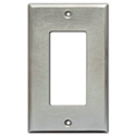 RDL CP-1S Single Cover Plate - Stainless Steel
