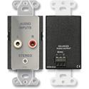 Radio Design Labs DS-CIJ3 Consumer Input Jacks - Mono - Stainless Steel