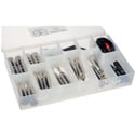 Remote Audio APPKITLT Adapt-a-Pak Lite Kit with 19 Different Audio Adapters Commonly Needed in the Field - 27 Pieces