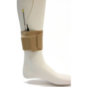Remote Audio URS ANBE URSA Low Profile Wireless Transmitter Ankle Strap with Big Pouch - Beige