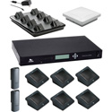 Revolabs by Yamaha  Executive Elite GSA Compliant 8 Ch Wireless Conference System with 6 Directional & 2 Wearable Mics