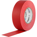 Photo of Pro Tapes 001UPCG155MRED Pro Gaff Gaffers Tape RGT1-60 1 Inch x 55 Yards - Red