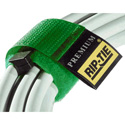 Rip-Tie RLH-095-010-GN 1 Inch x 9.5 Inch Rip-Tie Rip-Lock CableWrap - 10 Pack - Green