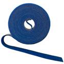 Rip-Tie W-15-1RL Wrap Strap - 1/2 Inch by 15 Feet - Blue