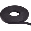 Rip-Tie W-75-1RL 1/2 Inch WrapStrap - Black - 75 Foot