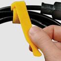 Rip-Tie Lite Y-05-XLR-Y 1/2x5in Yellow 10 Rolls of 10