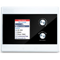 Rane RAD26 One-Room RAD Remote - Color LCD / 2-In 2-Out / 4W Amp Outputs / 2 Logic In/Out
