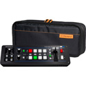 A Roland V-1SDI 4-Channel 3G-SDI Video Switcher with CB-BV1 Soft Carry Case Bundle