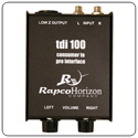 Rapco TDI-1 Tape Deck Passive Interface Box