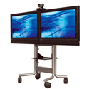 Avteq RPS-500L Rollabout Stand For Two 37 to 52 Inch Flat Panel TV