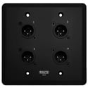 SoundTools Systems WC111-B WallCAT - Wall Mounted Audio Transport - Male Black