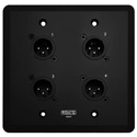 Rat Sound Systems WC111-B WallCAT - Wall Mounted Audio Transport - Male Black