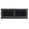 Ruige TLS900HD-2 - 4RU 2x 9in LCD Monitor CV - HDMI - Y/Pr/Pb - HD/SDI - Speaker