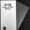 Photo of Rosco RX118 Tough 1/4 White Diffusion Sheet