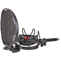 Rycote 045002 InVision Studio Kit w/USM Studio Mount and Pop Filter