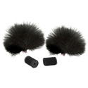 Rycote Black Lavalier Windjammers (Pair)